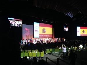 Inauguración Congreso Mundial de Diabetes 2013