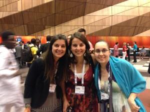 Con Tete y Trini en la Inauguración del Congreso Mundial de Diabetes 2013